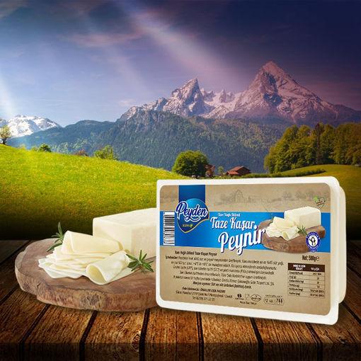 Dilimli Kaşar Peynir 500 Gr resmi