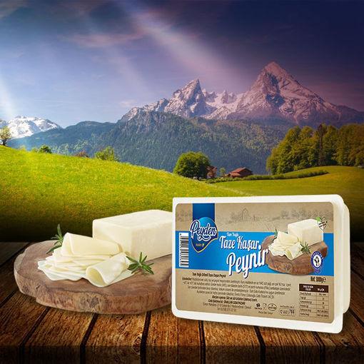 Taze Kaşar Peynir 1000 Gr resmi